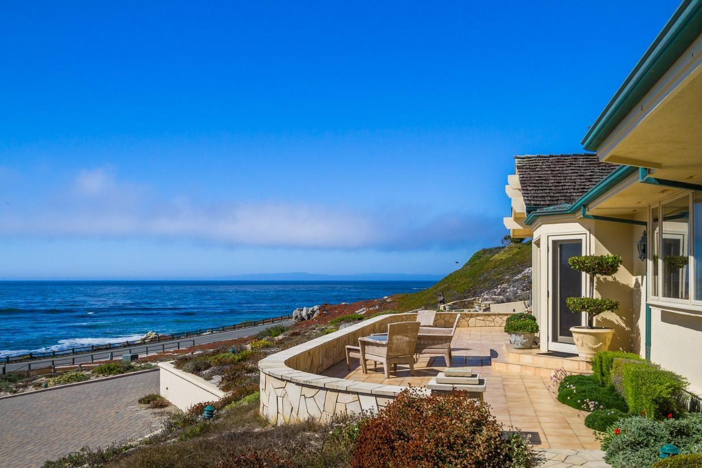 Oceanfront estate overlooking Cypress Beach in Pebble Beach, California