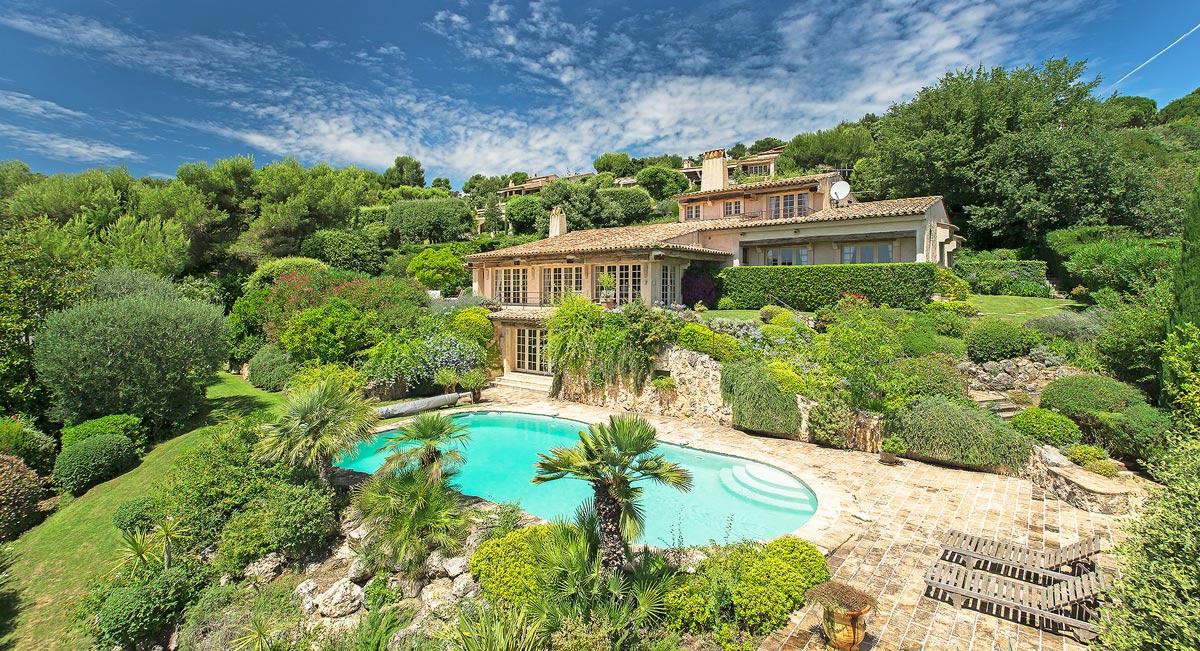 Charming villa in Cote d'Azur, France