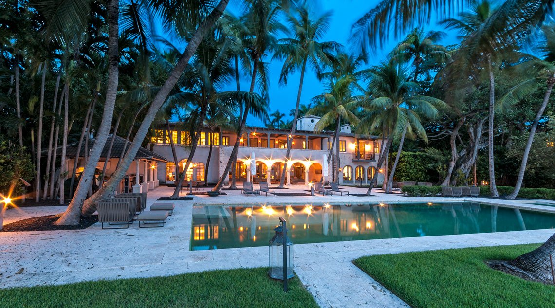 Spectacular bay view mansion in Miami Beach, Florida