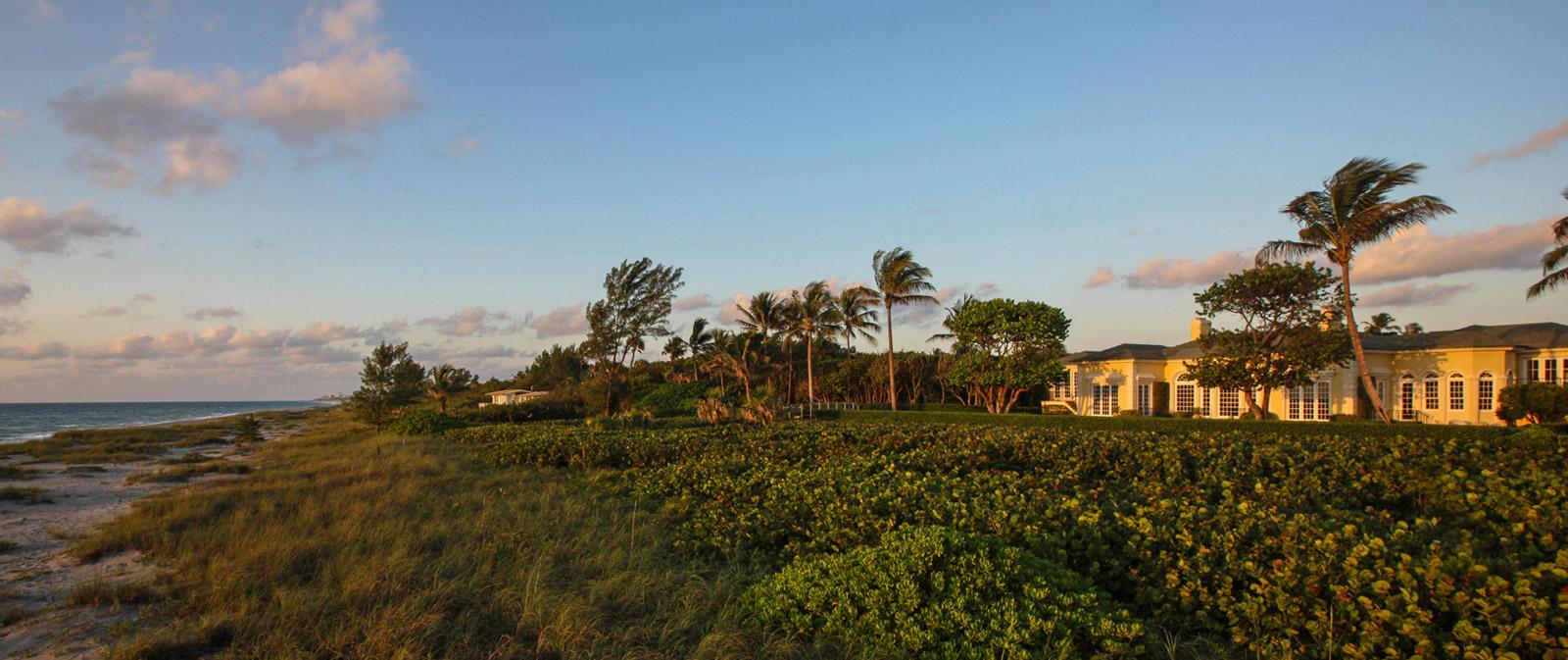 Turtle Hall, a classic oceanfront villa in Jupiter Island, Florida