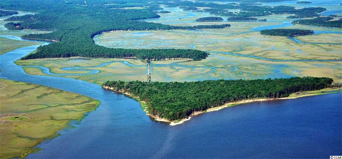 <b>480 Acres</b><br/>This plantation boasts high bluffs providing an unequaled, panoramic view of the marsh, river and the Atlantic Ocean. The mainland consists of approximately 400 acres, most of which border a tranquil marsh or the Morgan River.