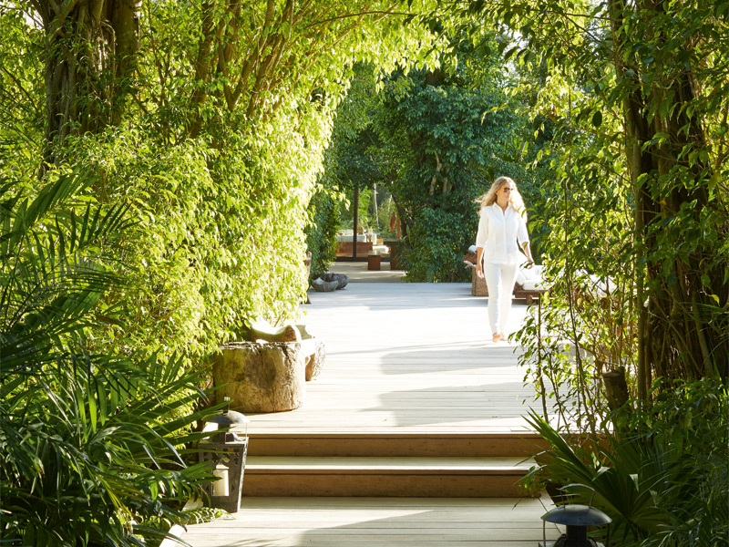 """Katherine Baryluk of Regency Ltd, an affiliate of Christie's International Real Estate, describes The Sanctuary as """"very calming and tranquil… It's all been done so perfectly."""" Photograph: Ngoc Minh Ngo"""