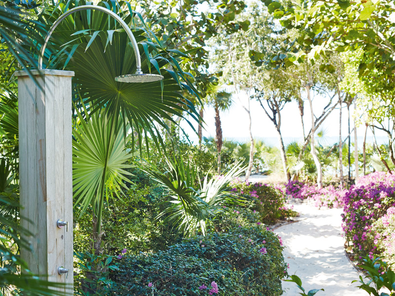Surrounding The Sanctuary are landscaped gardens with orchids, bougainvillea, and buccaneer and coconut palms. Photograph: Ngoc Minh Ngo