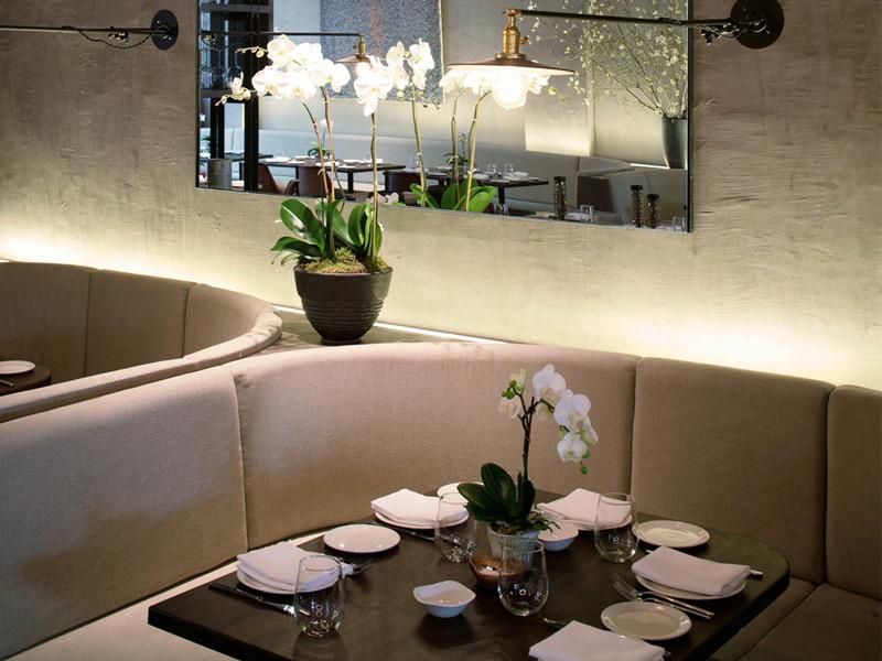 While Gabby Karan De Felice co-ordinated the design of the restaurant, close friend Maurizio Marfoglia took control of the menu.