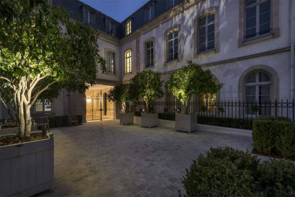 <b>8 Bedrooms, 18,082.52 Sq. Ft.</b><br/>Exceptional 4-story private mansion with breathtaking panoramic views over Paris, and equipped basement levels feature an indoor swimming pool and spa.