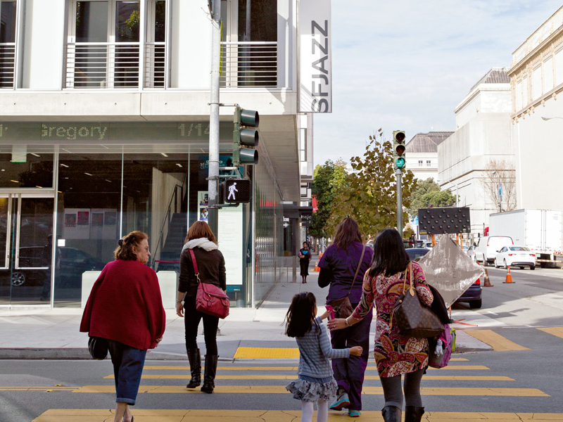 A stroll through hip Hayes Valley, home to the new SFJAZZ Center. Photograph: Jen Siska