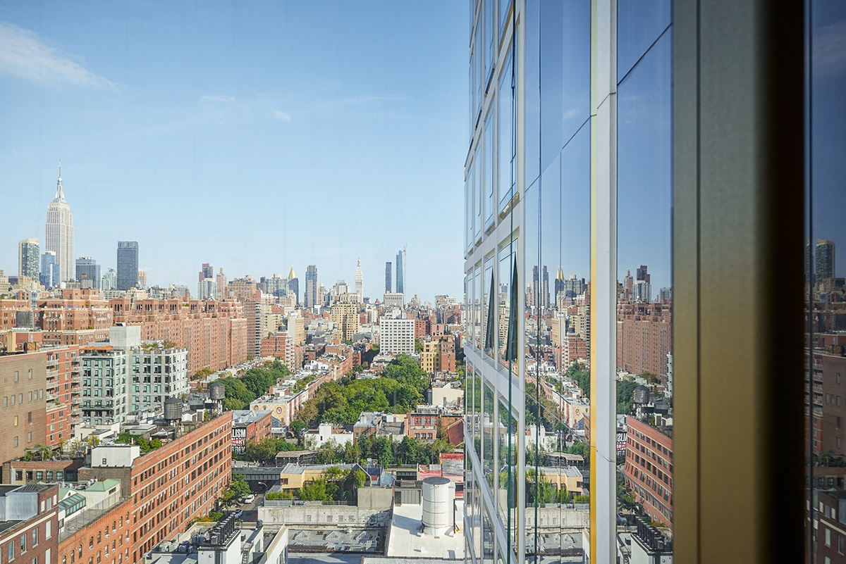 Luxury residence at 551 West 21st Street, designed by Pritzker-prize winning architect Norman Foster