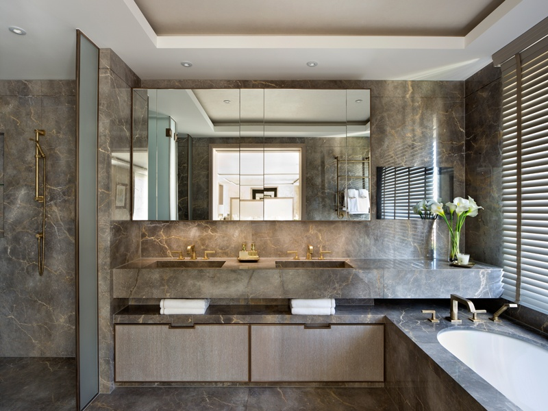 1508 London offers a concept-to-completion service, selecting every fixture and fitting to create the perfect finish – as seen in this bathroom at Project James, London.