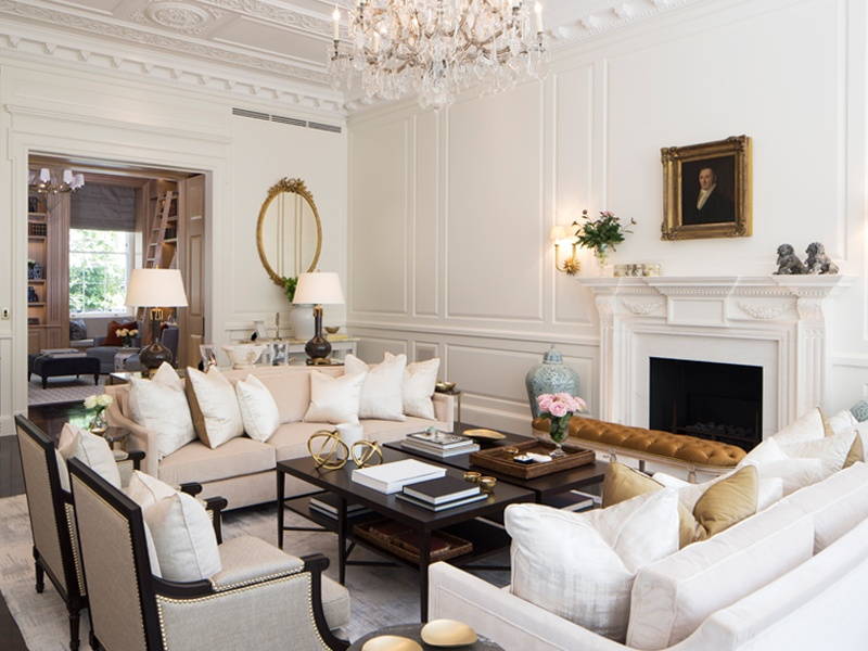 Project Pearl showcases 1508 London's sensitive approach to restoration and refurbishment, with period details incorporated throughout the Regency villa in Belgravia.