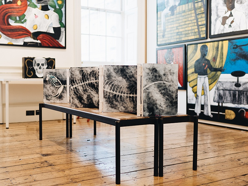More than 130 artists showed their work at 1-54 in London in 2017—the fair's fifth year in the city. For 2018, 1-54 will expand to Marrakech. Photograph: Katrina Sorrentino