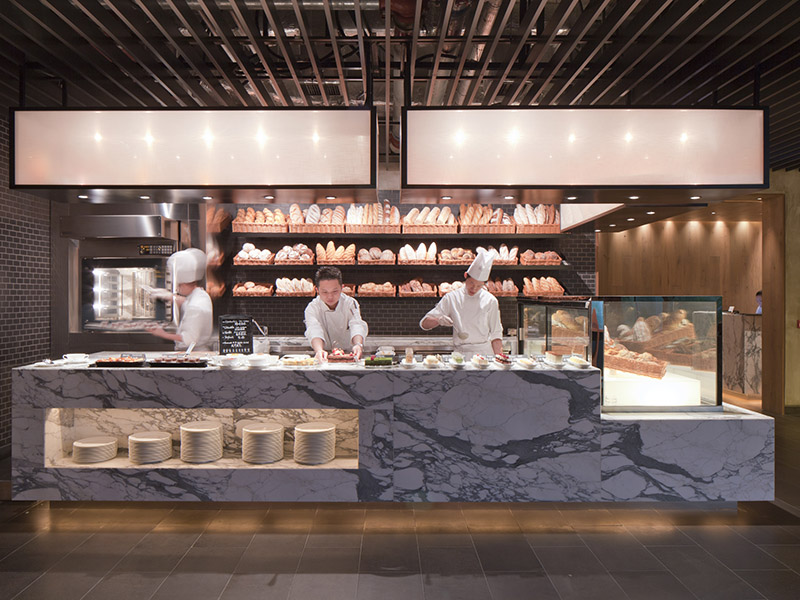 Inspired by the iconic food markets of Asia and Europe, Hotel ICON's The Market restaurant serves international delights, including deli food, sashimi, laksas, antipasti, and a variety of delicious desserts.