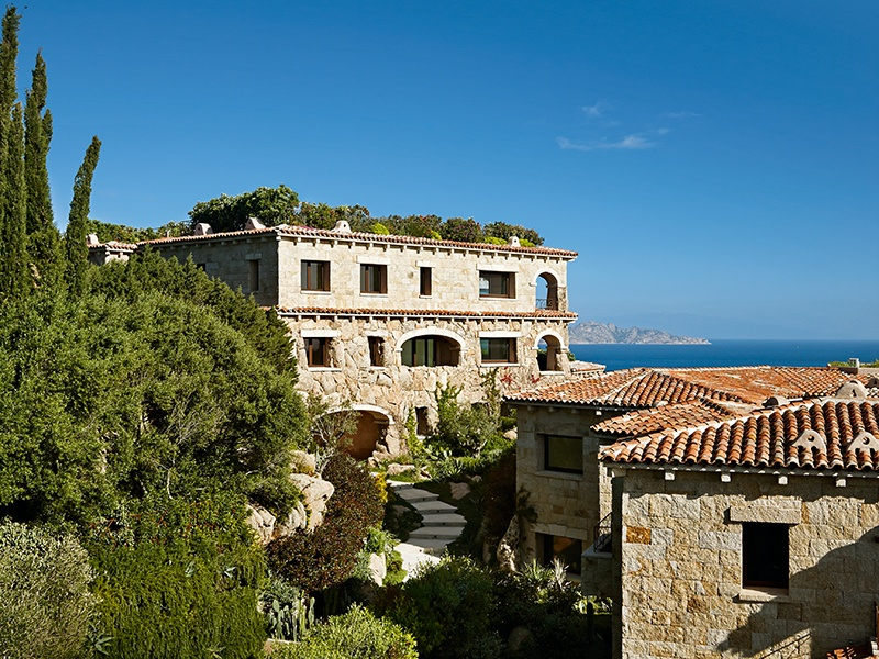 The landscaped setting provide ample opportunity to enjoy the Sardinian climate and spectacular views, visible  at every turn.