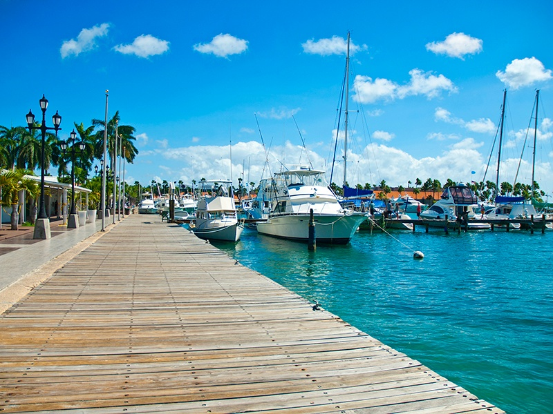 Cuba's stunning mix of mountains, valleys, and sandy beaches, in addition to its favorable year-round climate and steady winds, make it a fascinating destination for sailors. About 20 marinas all around the country welcome yachts under all flags. Photograph: Getty Images
