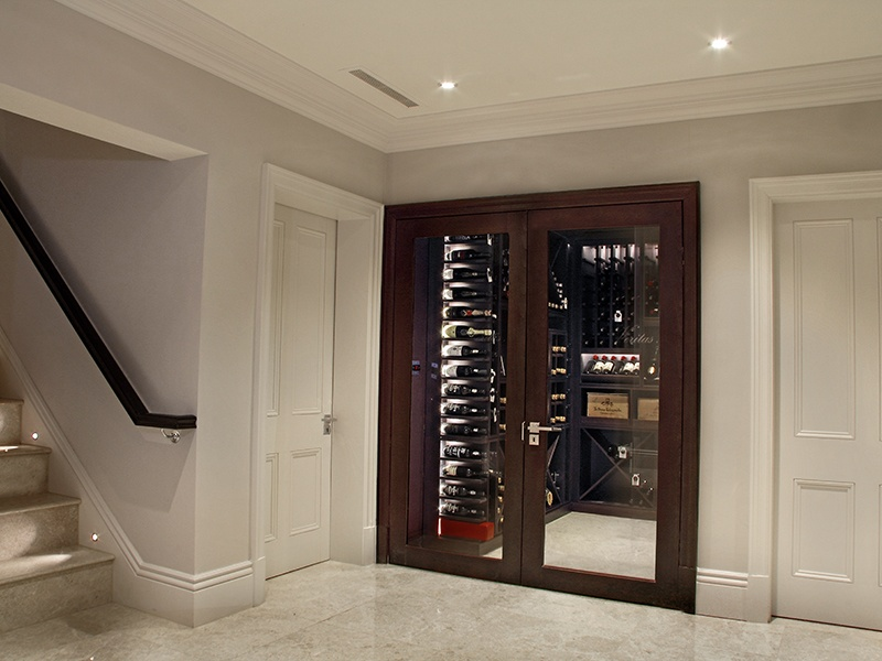 Cellar Maison wine cellars are stylish and sophisticated and can be customized with your choice of materials and lighting. Banner image: Villa René Lalique's magnificent wine cellar.