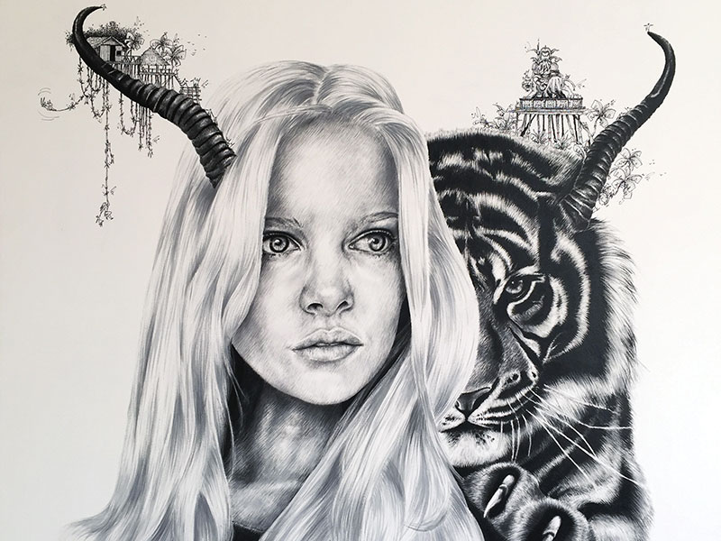 """Avila's work combines """"the realistic and faithful restoration and reconstruction of faces and emotion with fantasy and dreams..."""""""