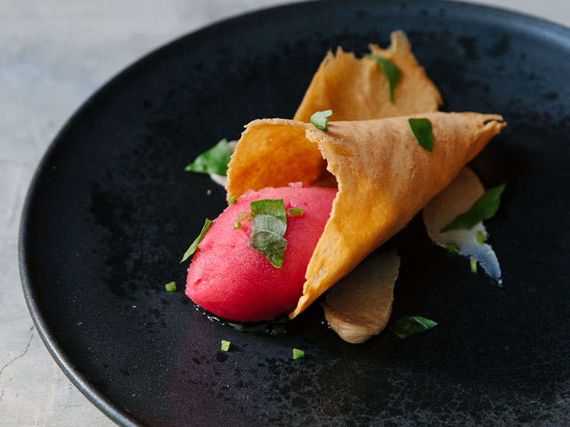 Karen Leibowitz recognizes that ultimately The Perennial is only as good as the food it serves. Photograph: Alanna Hale
