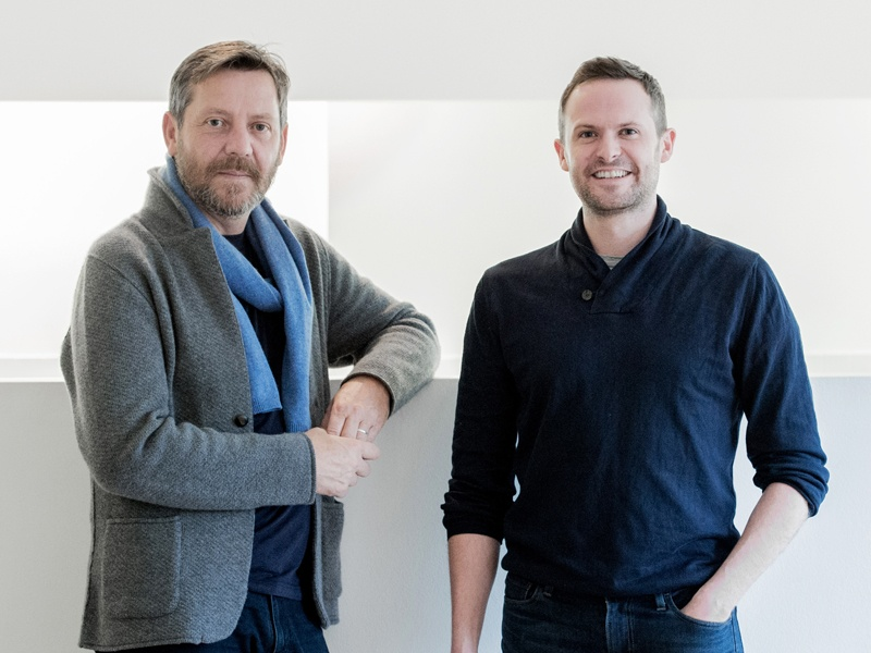 Martin Hulbert (left) set up Martin Hulbert Design in 2010 with his business partner Jay Grierson (right). The company's hotel designs frequently appear in <i>Condé Nast Traveler</i>'s Gold List and Readers' Awards. Hulbert was also voted one of the 100 Leading Interior Designers in Great Britain by <i>House &amp; Garden</i> magazine in 2015. Photograph: Martin Hulbert Design. Banner photograph: The Grove