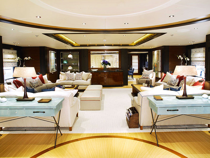 Successful interior concepts – like this salon design for Baton Rouge by Redman Whiteley Dixon – result from a collaboration between designer and client, with the brief informed by where you'll sail, who with, and what you plan to do aboard.
