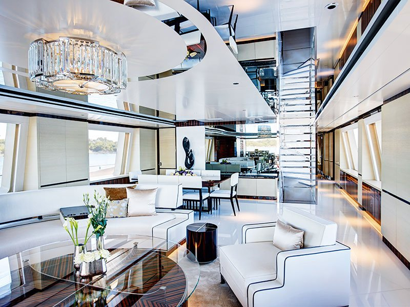The UK's Redman Whiteley Dixon has been helping clients realize their interior dreams for more than two decades. Banner: A stunning design concept by Netherlands-based Sinot Exclusive Yacht Design.