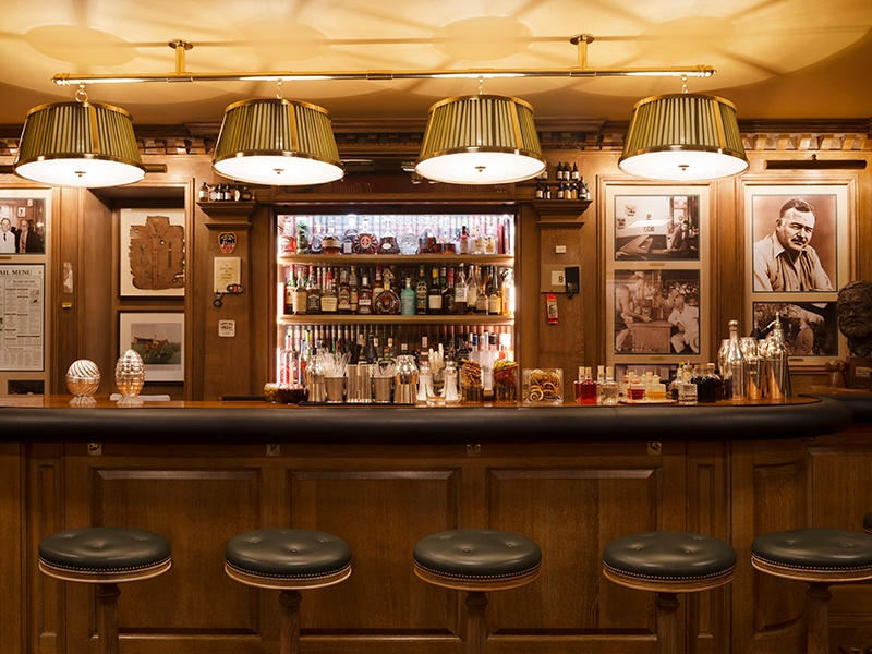 Bar Hemingway's Colin Peter Field, twice named The World's Greatest Bartender by Forbes Magazine, crafts cocktails like no other. For spring, he recommends a Poire Victoire. Photograph: Vincent Leroux