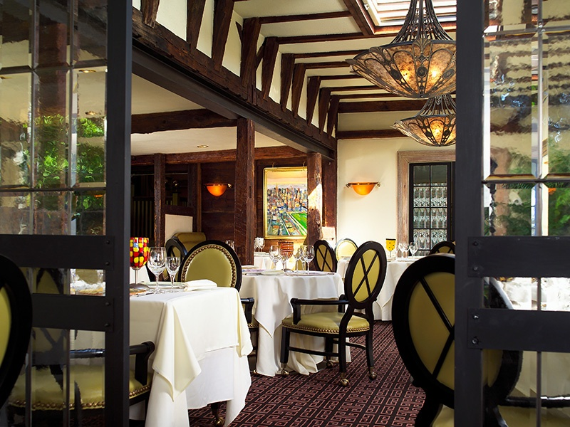 At the world-class Homestead Inn in Greenwich, chef Thomas Henkelmann serves contemporary French cuisine in a beautiful 18th-century farmhouse.