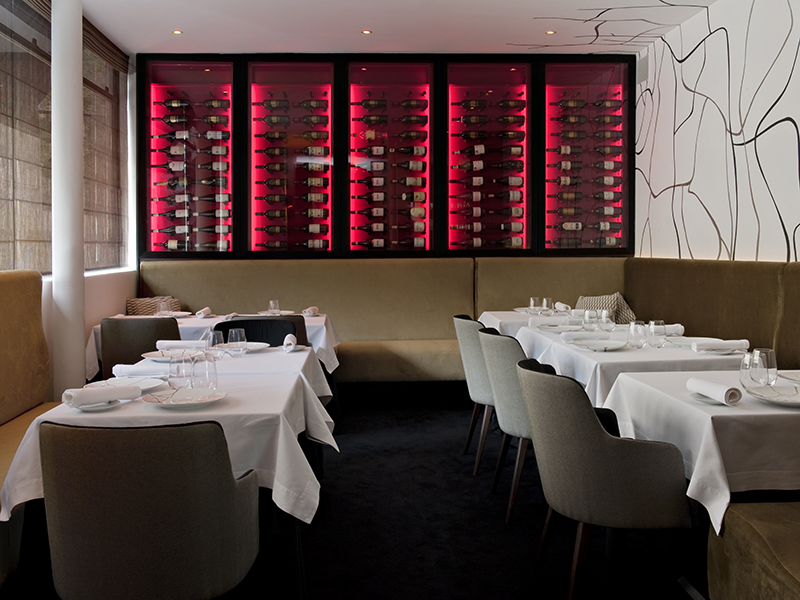 Enrico Bernardo was the youngest winner of the World's Best Sommelier award in 2004. The food menu at his Il Vino restaurant is determined according to your choice of wine.