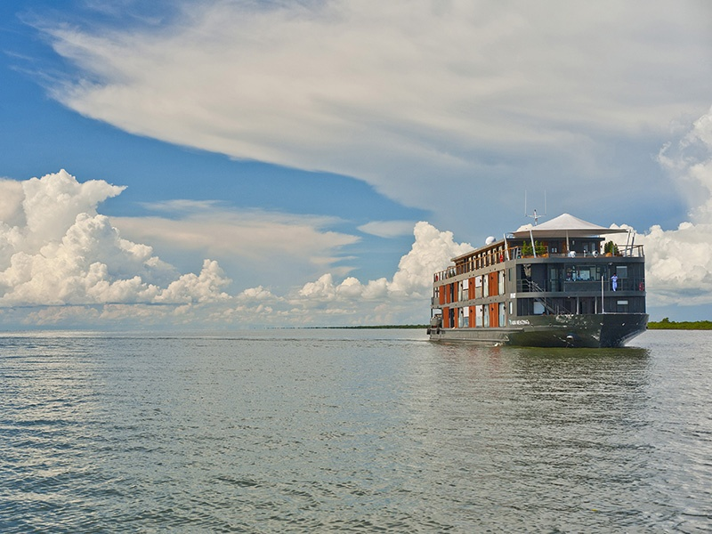 Float along the Amazon or Mekong rivers with Aqua Expeditions and gain insight from conservationist Jean-Michel Cousteau.