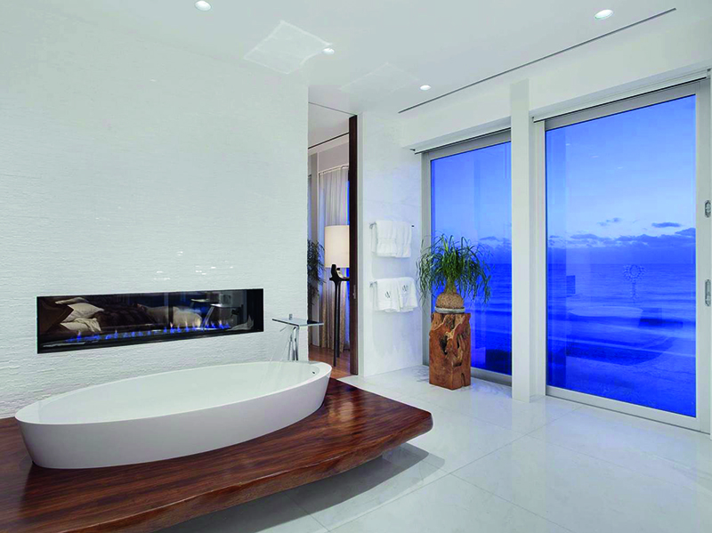Currently being marketed by Premier Estate Properties, an affiliate of Christie's International Real Estate, this Florida estate has a spa-like master bath with marble finishes, a steam shower, a tub with teak surround, an outdoor shower, and glorious ocean views.