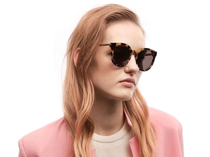 Gentle Monster's DIDI A sunglasses pair high-end craftsmanship with a more experimental style.