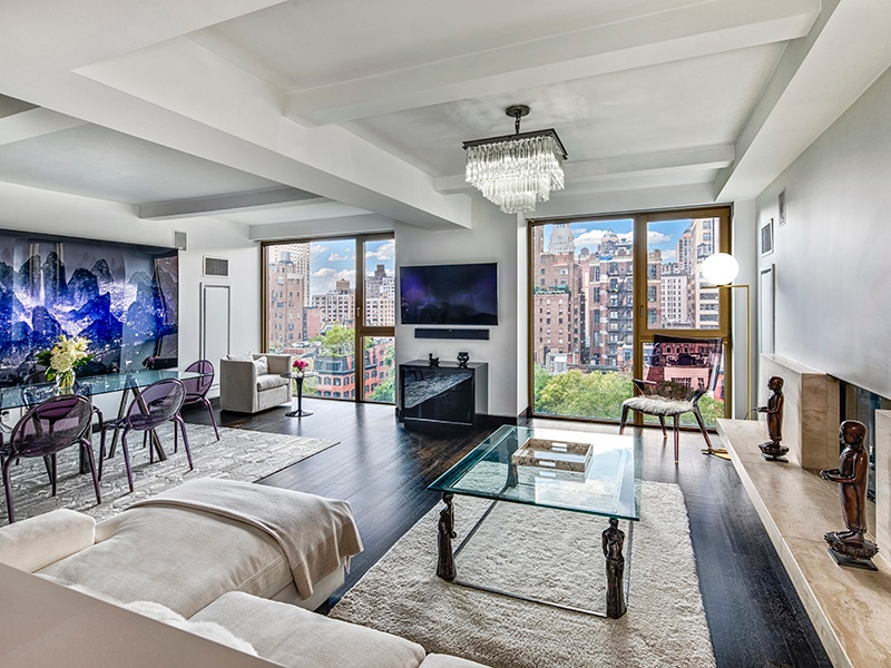 Designed by world-renowned architect John Pawson, this stunning two-bedroom, two-and-a-half-bathroom apartment is utterly luxurious, and comes complete with a key to Manhattan's exclusive Gramercy Park.