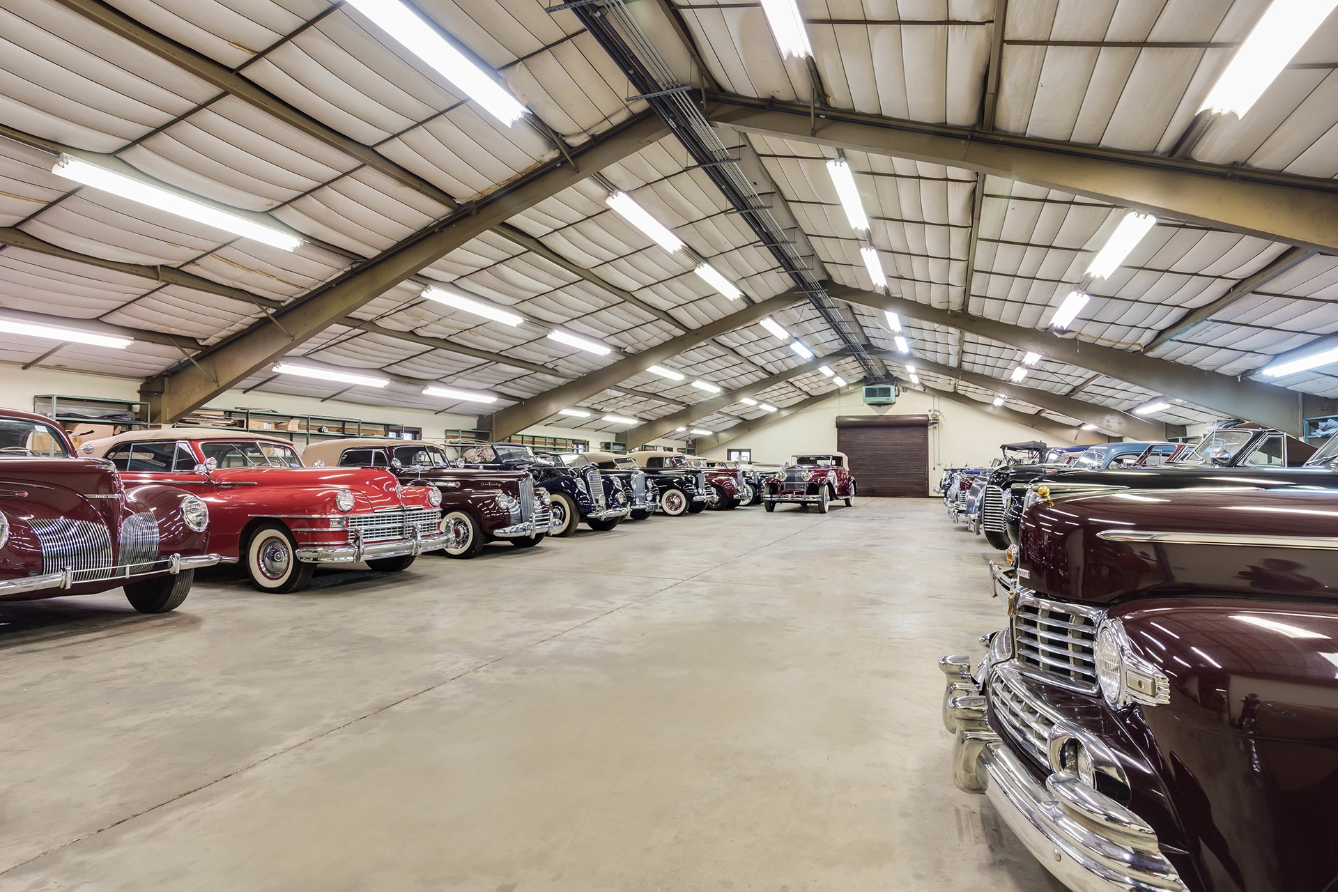Featuring a 55-plus-car auto barn and a Bailey Marine-built dock on Chesapeake Bay, this magnificent waterfront estate is a dream home for car collectors and boaters alike.