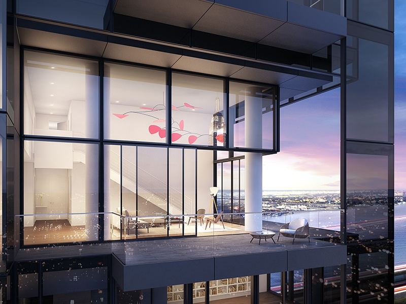 The design for 685 First Avenue in Manhattan, by Richard Meier & Partners Architects. Photograph: Bloomimages. Courtesy of Ricard Meier & Partners Architects