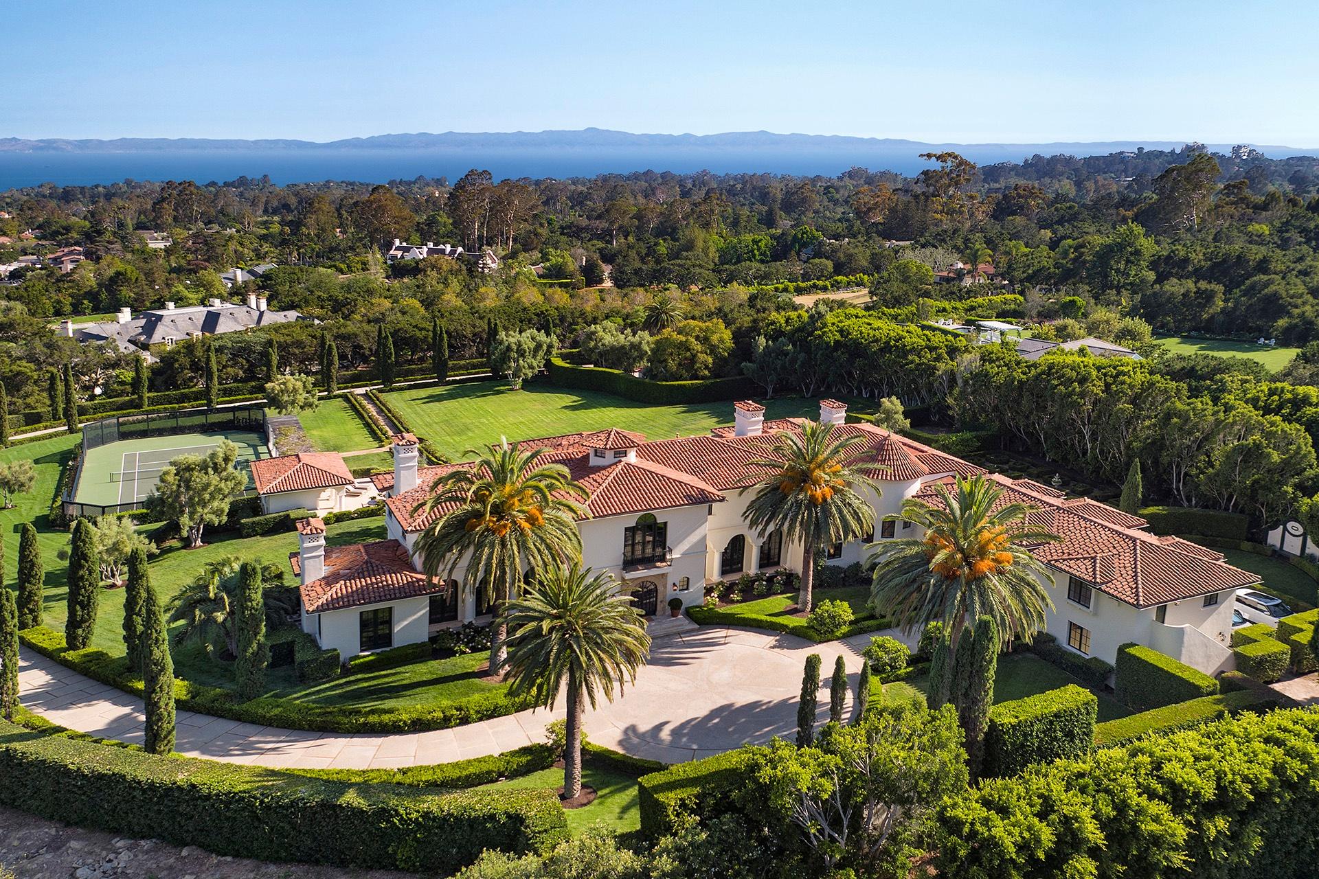 Grand Newly Renovated Estate, Montecito, California