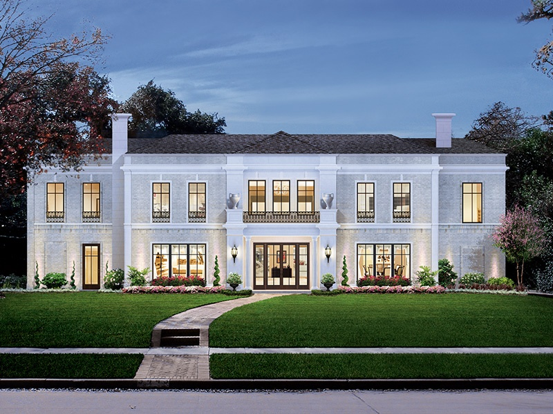 Al Ross Luxury Homes oversees the creation of custom-made homes from start to finish, down to the last detail.