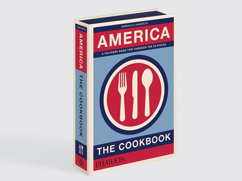 Celebrating national food and food culture, <i>America: The Cookbook</i> takes a state-by-state look at the country's diverse dishes.
