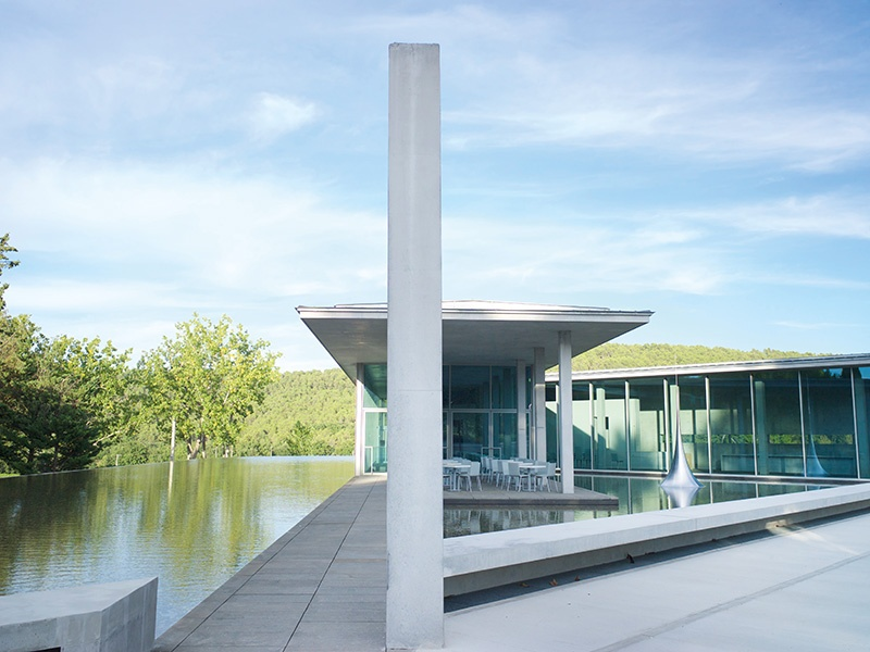 A Tadao Ando-designed art center can also be found at Château La Coste. Photograph: Tadao Ando Art Centre © Château La Coste/Andrew Pattman 2015