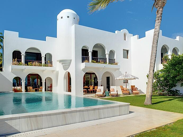 Cap Juluca epitomizes the romance and seclusion of Anguilla, with its Moorish architecture and Morocco-inspired decor.