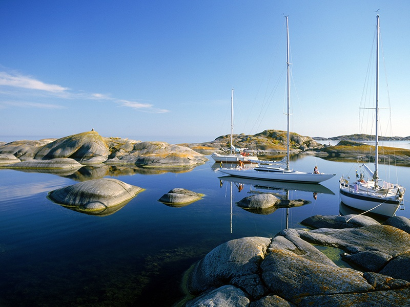 Stockholm Archipelago includes nearly 30,000 islands, islets, and rocks. Photograph: Alamy