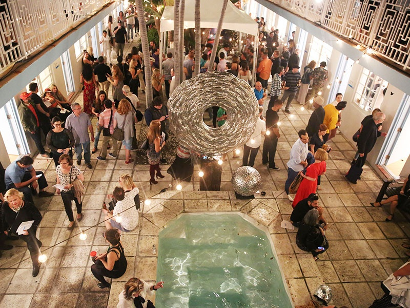 Running concurrently with Art Miami, Aqua Art Miami at the Aqua Hotel is the spot to find works from young, emerging, and mid-career artists.