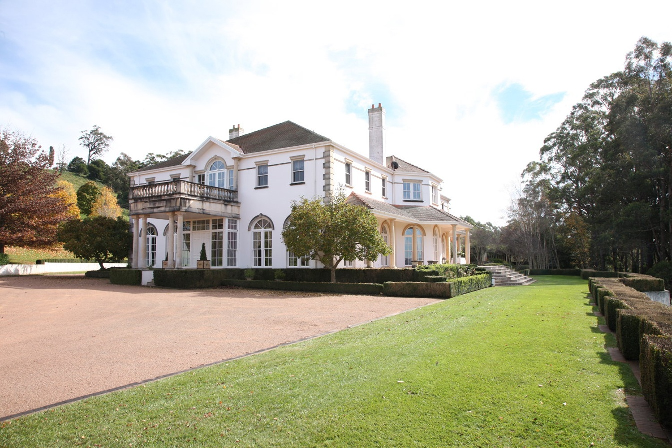 Mandalay, a 190-acre estate in the Australia's Southern Highlands, is styled after a prominent 19th-century British Colonial mansion in Singapore.