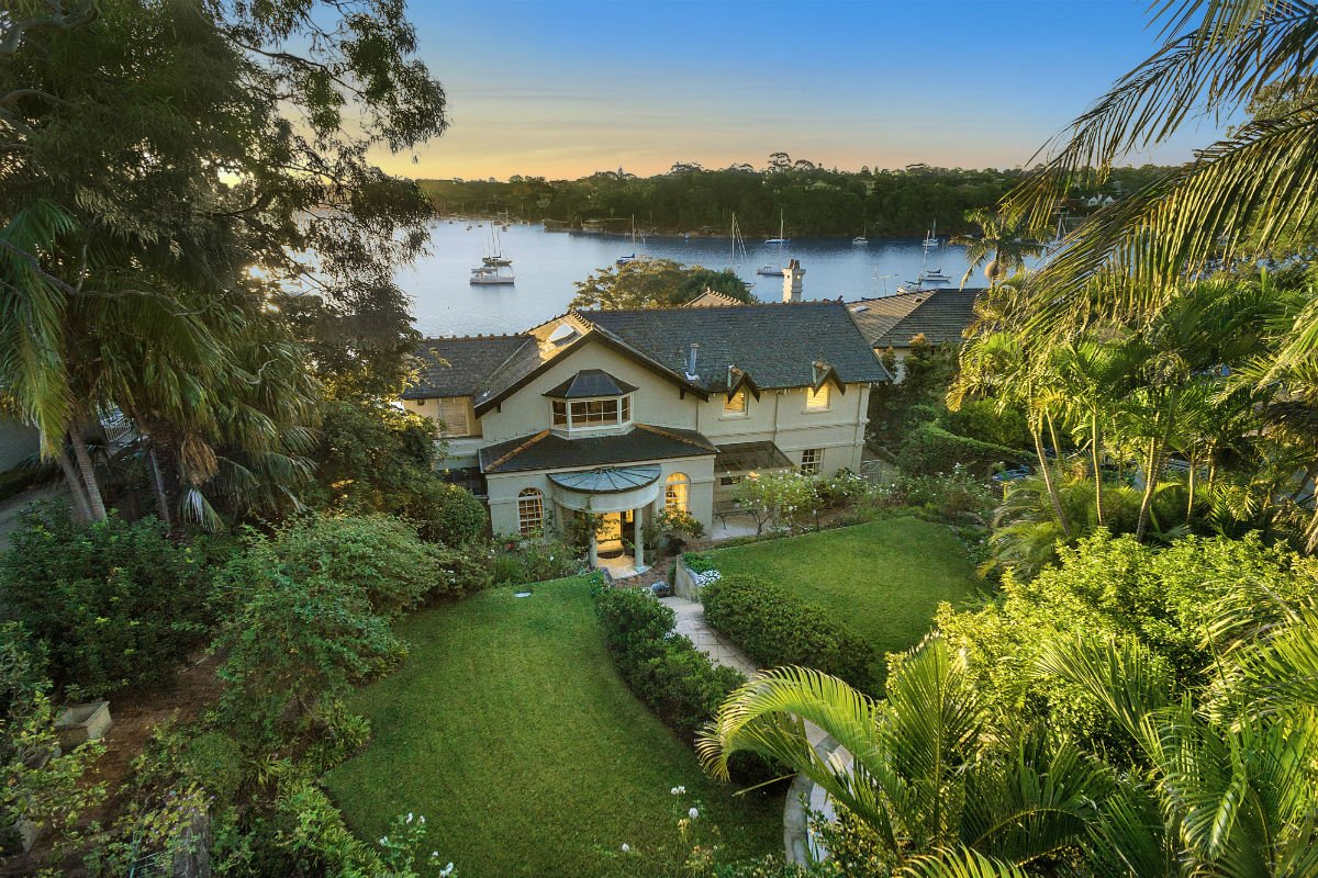 This prized Sydney trophy is arguably one of the area's most significant waterfront estates.