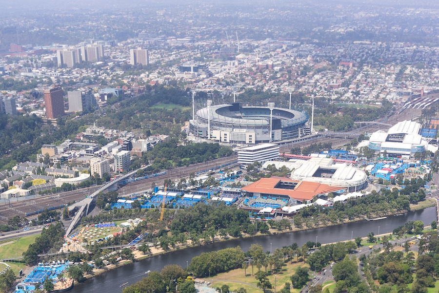 The Australian Open is the tournament where emerging players often come into global prominence. Played on a hard court, its energy and pace is similar to that of the US Open.