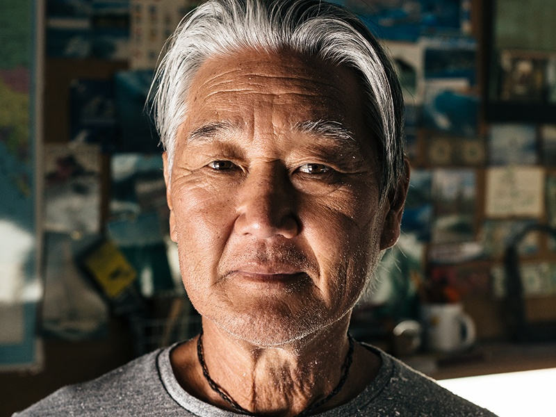 Guy Okazaki grew up on the ocean, learning from the best surfers from an early age. Banner image: Okazaki's studio in California. Photographs: Brian Ferry