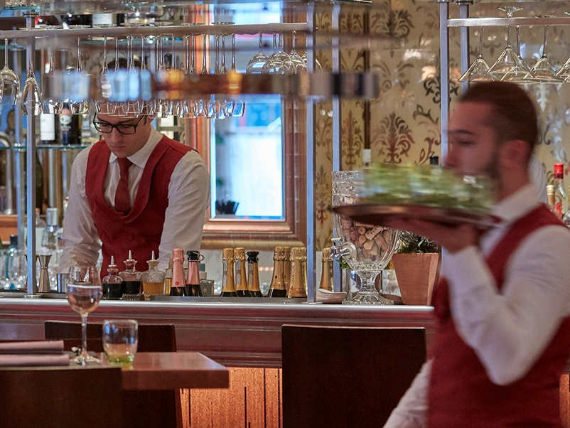 Bar Boulud, the French-style bistro at Mandarin Oriental, Hyde Park, is a partnership with celebrity chef Daniel Boulud.