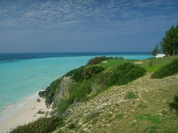 Port Royal Golf Course boasts sweeping ocean views from almost every one of its 18 championship holes. Photograph: Getty Images
