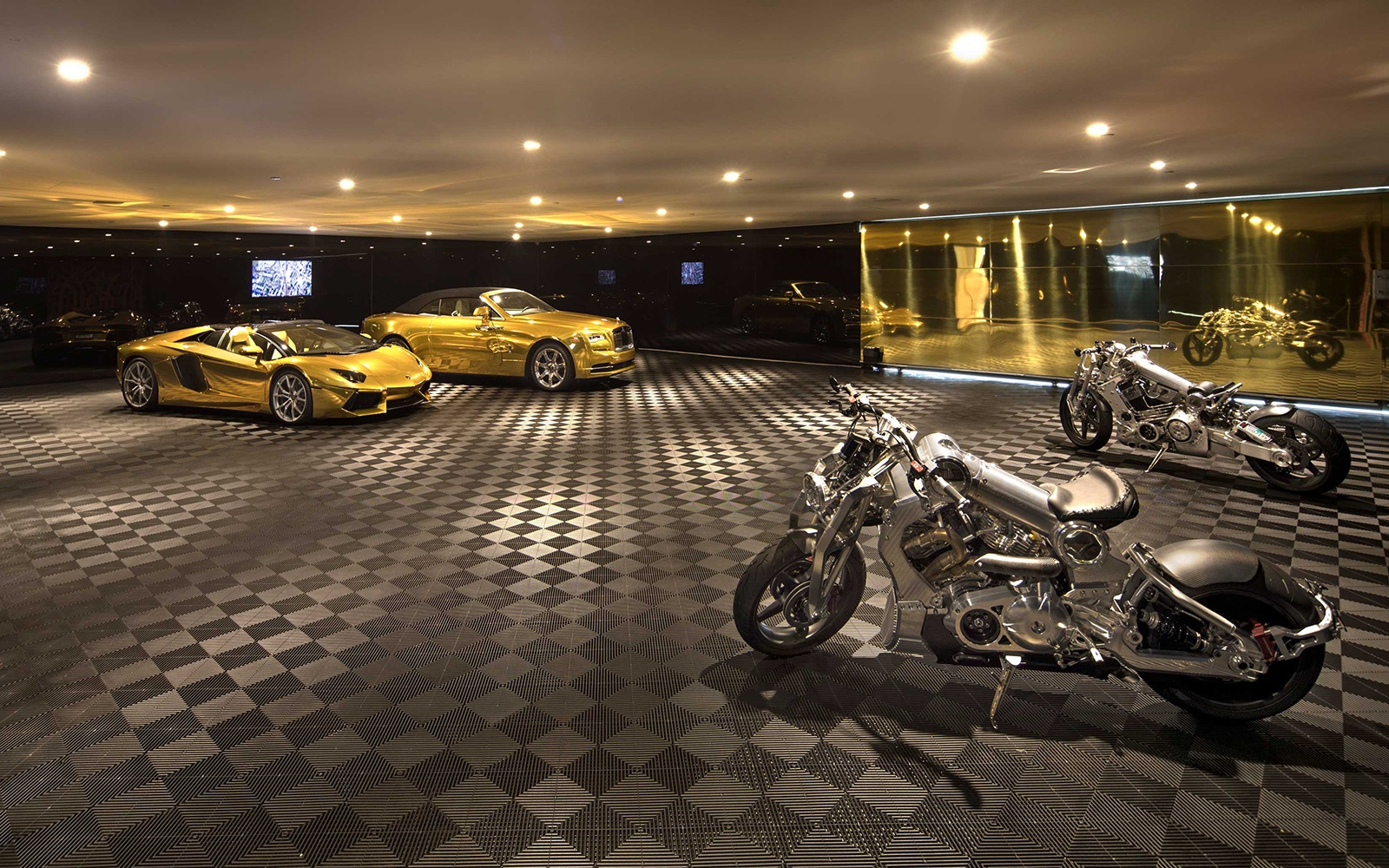 Billionaire Row dream house Opus has everything for the luxury collector, including its very own car museum.