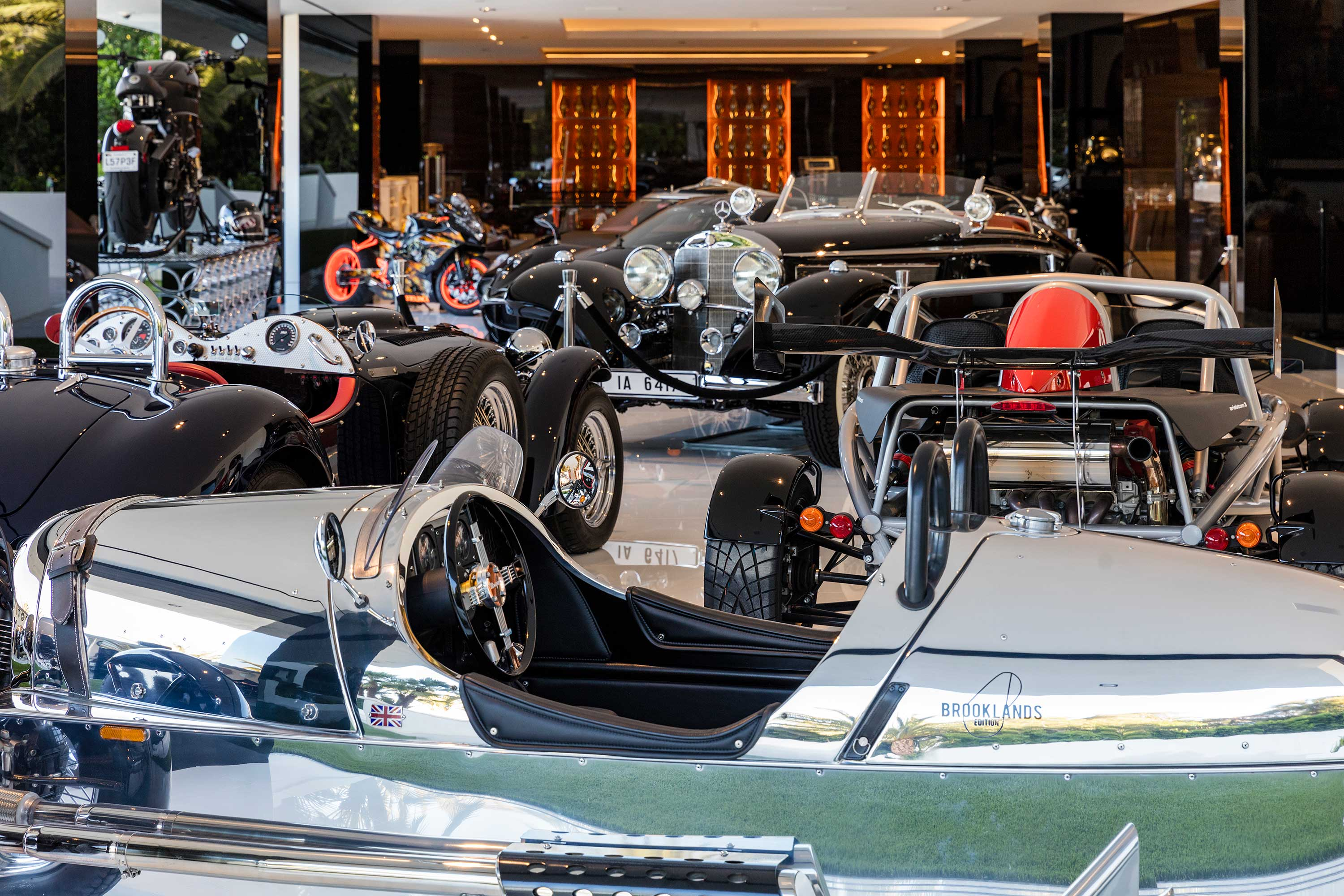 Billionaire, in the ultra-exclusive enclave of Bel-Air, features an auto gallery with $30 million worth of collector cars.