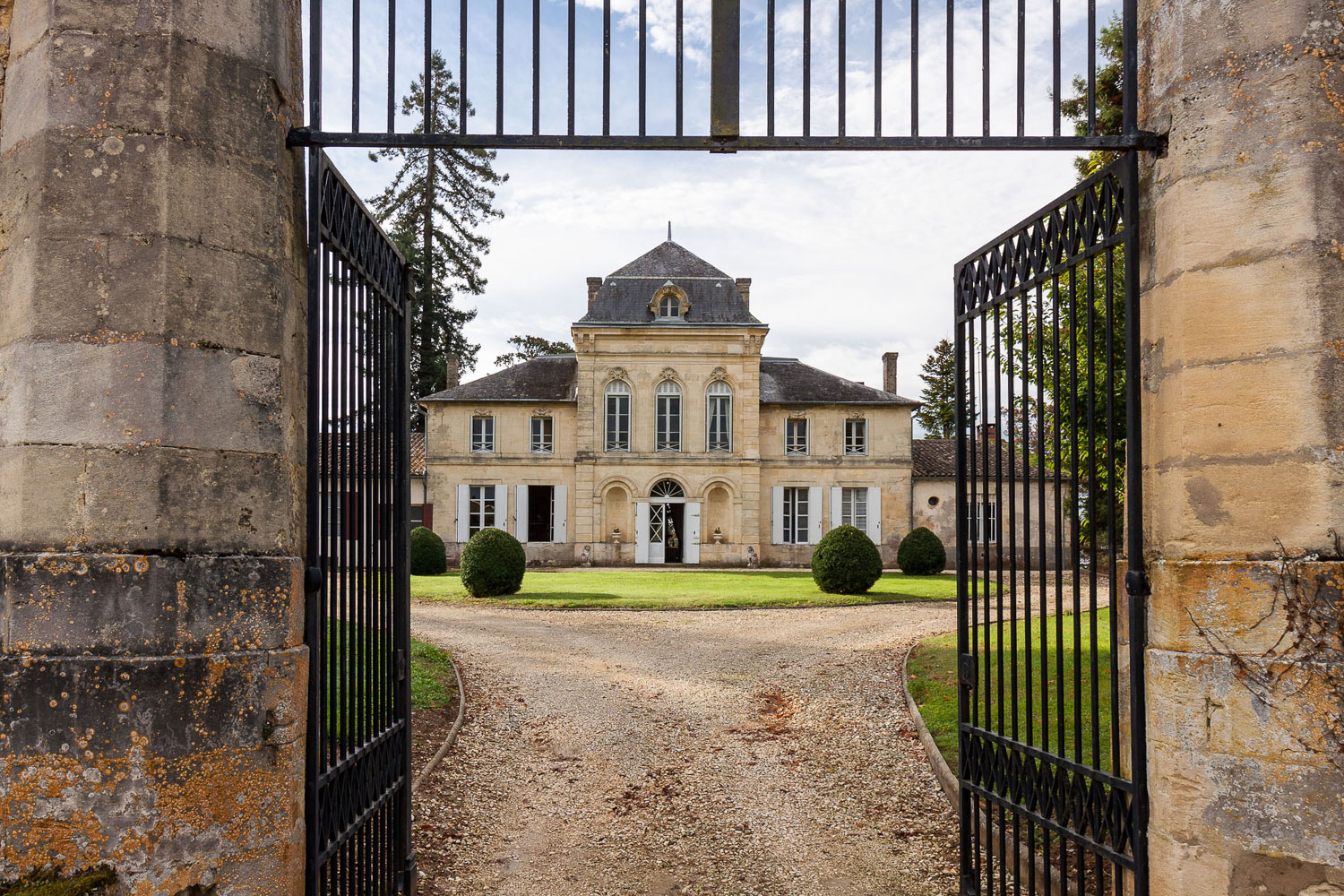 This 17th-century château and vineyard estate in Bordeaux was once owned by Napoleon's personal guard.