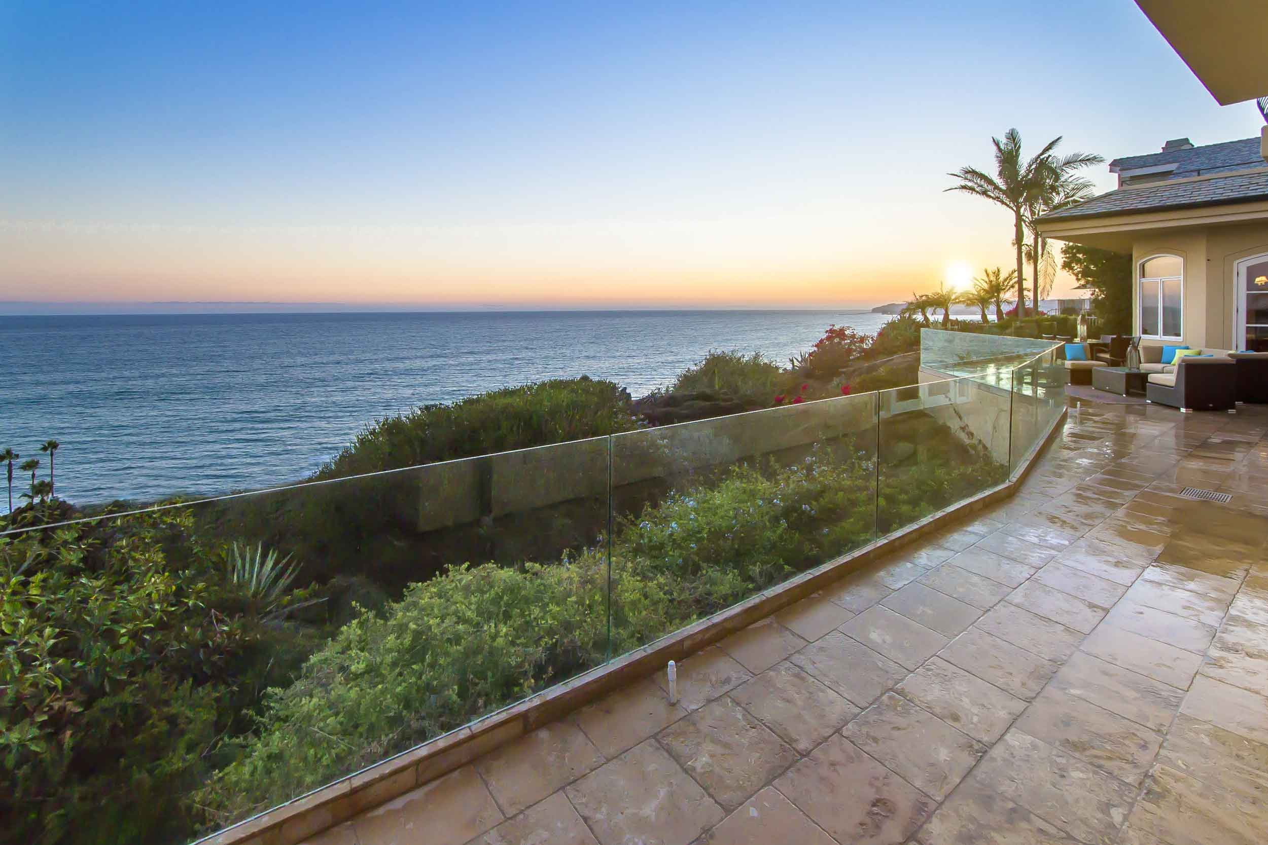 Surfers regard Dana Point as aficionados regard the Getty or the Louvre: Camino Capistrano is an architectural masterpiece.