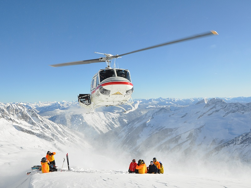 Operating in the Columbia Mountains, west of the Rockies, for over 50 years, Canadian Mountain Holidays – or more specifically its founder, Hans Gmoser – invented heli-skiing in 1965.
